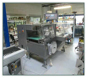 At the moment we are working at a Kallfass NT 700 packaging machine.