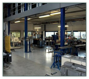 Our workshop in our warehouse in Swifterbant